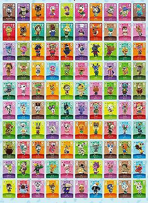 AU13.97 • Buy Animal Crossing Amiibo Series 3 Cards # 201-300 Also Works In Ac New Horizons