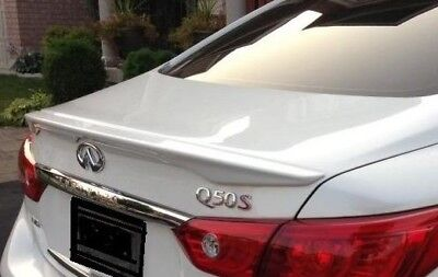 $ CDN259.93 • Buy New Painted Rear Lip Spoiler For 2014-2020 Infiniti Q50-no Drill Any Color