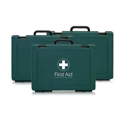 £8.49 • Buy Empty Standard First Aid Box / Case - Small/Medium/Large - Includes Wall Bracket