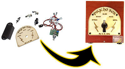 $ CDN48.76 • Buy The  Psycho Box  Distortion/Overdrive Guitar Pedal Parts Kit - No Soldering!