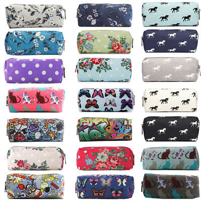£2.69 • Buy Teens Pencil Pen Case Cosmetic Girls Make Up Bag Storage Pouch Animal Floral