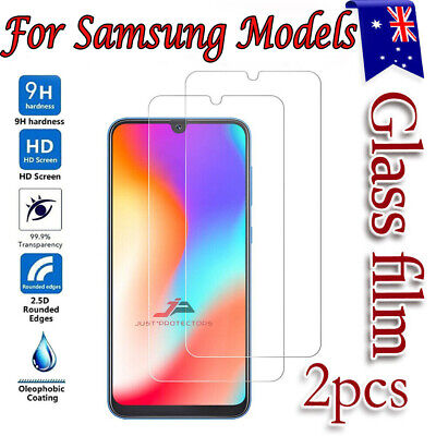 AU1 • Buy 2xFor Samsung Galaxy A20 A50 A51 A70 A71 A11 A12 Tempered Glass Screen Protector