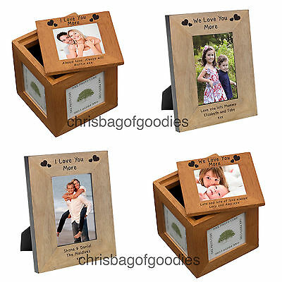 £20.50 • Buy PERSONALISED I WE LOVE YOU MORE Gifts Presents For Her Him Novelty Gift Idea Fun