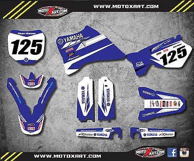 AU179.90 • Buy  Yamaha YZ 125 250 / 1996 - 2001 Decal Kit PREMIERE Style  Decal Kit Stickers