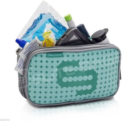 Elite Isothermal Cool Bag / Kitbag For Insulin & Diabetic Supplies Green • 14.44£