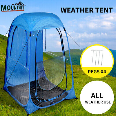 AU34.99 • Buy Mountview Pop Up Tent Camping Weather Tents Outdoor Portable Shelter Waterproof