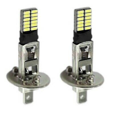$7.95 • Buy 2x H1 Halogen 24-LED 12V Car Fog Bulbs Driving Lights Super White 6500K