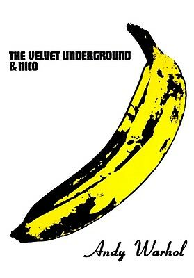 $11.99 • Buy THE VELVET UNDERGROUND & NICO ANDY WARHOL BANANA POSTER PRINT ART 24x36 NEW