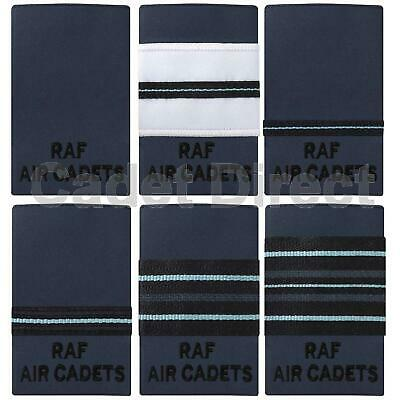 RAF Air Cadets Officers Rank Slides No 2 Dress, Dark Blue • 5.95£