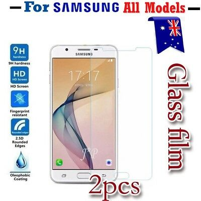 AU5.89 • Buy For Samsung Galaxy J2 J5 J7 Pro A8 J5 J7 Prime Tempered Glass Screen Protector