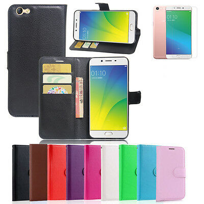 AU8.99 • Buy Premium Leather Wallet Case Cover F Oppo Reno Z R15 R17 AX7 AX5 A3S A57 A73 AX5S