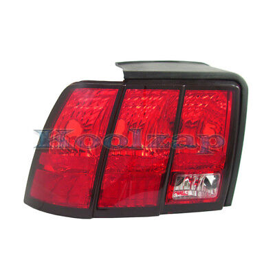 $46.95 • Buy 99-04 Mustang Taillight Taillamp Rear Brake Light Lamp Driver Side 3R3Z13405AA