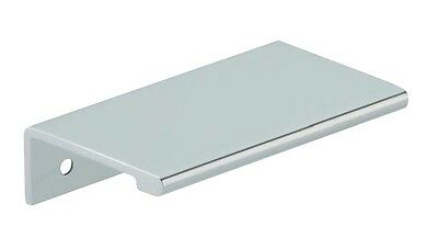 Pull Handle QUINN Kitchen Bedroom Cabinet Door Cupboard Drawer Handle Chrome • 2.99£