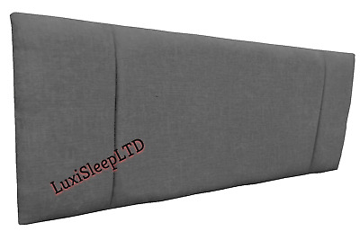 Top Quality Portobello Headboard In Chenille Fabric 26  Height Bargain Price • 27.95£