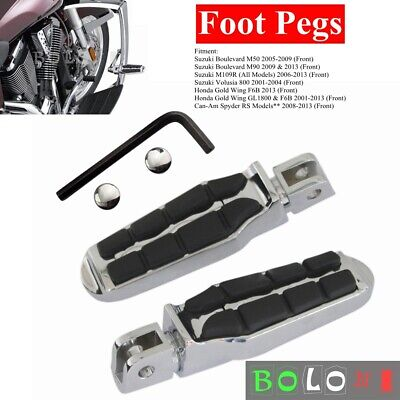 $32.19 • Buy Tombstone Front Foot Pegs For Suzuki Boulevard M50 M90 M109R Volusia 800 2006-13