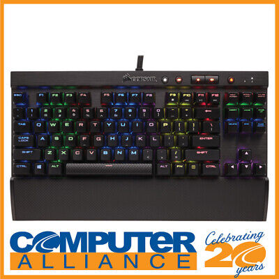 AU189 • Buy Corsair Wired K65 LUX RGB MX Red Compact Mechanical Gaming CH-9110010-NA Keyboar