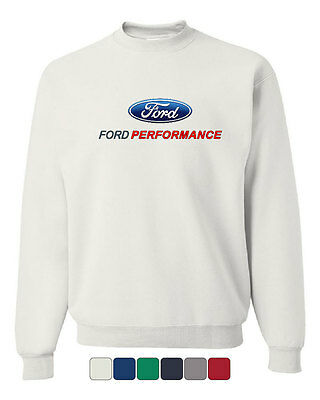 $23.99 • Buy Ford Performance Crew Neck Sweatshirt Ford Mustang GT ST Racing