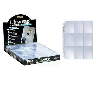 AU8.75 • Buy Ultra PRO 9-Pocket Platinum Pages Binder Album Folder Card X 10 25 30 50 100 200