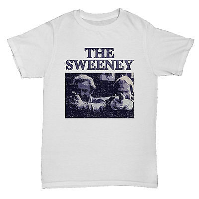 THE SWEENEY TV INSPIRED THEMED RETRO CULT MENS COMEDY FILM MOVIE T Shirt • 5.99£