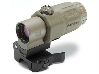 $489 • Buy EOTech G33 3x Magnifier For Red Dot Sights W/ STS Mount - Tan