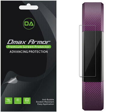 $ CDN10.06 • Buy 6-Pack Dmax Armor Full Screen Coverage Clear Screen Protector For Fitbit Alta HR