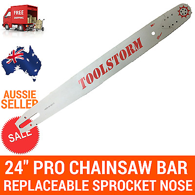AU82.49 • Buy 24/25  TOOLSTORM Pro Chainsaw Bar Only For Stihl 3/8 063 84DL 066 MS660 MS390
