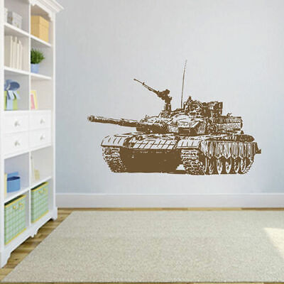 $28.99 • Buy Ik1608 Wall Decal Sticker Tank Military Equipment US Army Children's Bedroom