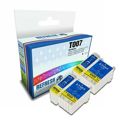 Refresh Cartridges Value Pack T007/t009 Ink Compatible With Epson Printers • 11.27£