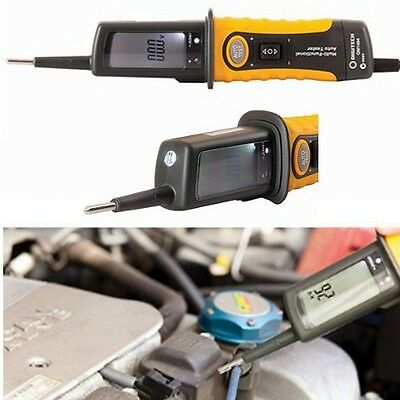 AU64.95 • Buy Circuit Tester Automotive Multi-Function With LCD Light 12V/24V Frequency New!