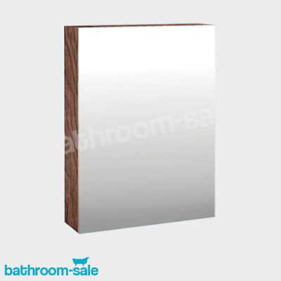 MyPlan 600 Bathroom Mirror Wall Cabinet - Walnut | RRP: £189 • 109.99£