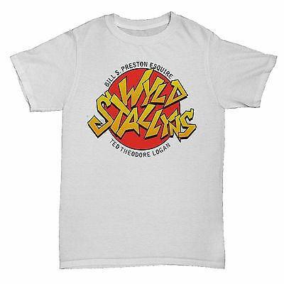 BILL AND TED INSPIRED WYLD STALLYNS WILD STALLIONS TUMBLR MOVIE FILM  T Shirt • 5.95£