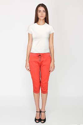 Ladies Womens 3/4 Crops Shorts Cropped Capri Cotton Trousers New Ex Store Size  • 4.95£