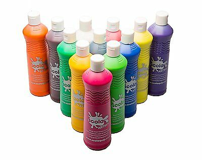 £30.90 • Buy Scola Artmix Ready Mix Coloured Paint, 12 X 600 M - Pack Of 12