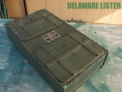 $149.95 • Buy US Military Radio WW2 Navy MAY-1 Transceiver AUX Battery Box CRP-19062 NOS