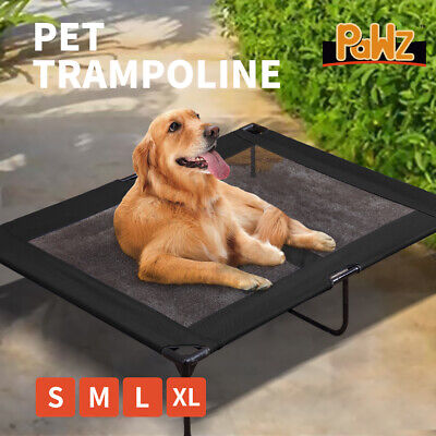 AU32.99 • Buy Heavy Duty Pet Bed Trampoline Dog Puppy Cat Hammock Mesh S M L XL AU Stock