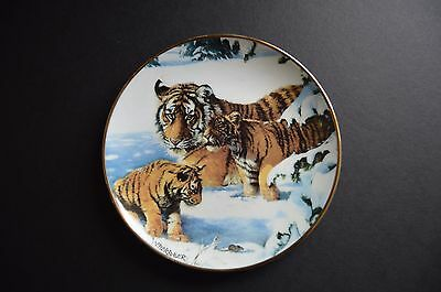£14.38 • Buy Franklin Mint | Royal Doulton  Playing Cat And Mouse  Collectors Tiger Plate