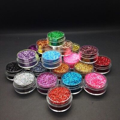 High Quality Fine Glitter - Dust Face Paint Make Up Craft Tattoo Festival • 1.19£