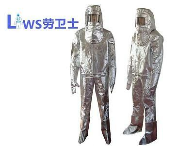 Thermal Radiation 700-1000 Degree Heat Insulation Clothes Aluminized Suit  • 178$