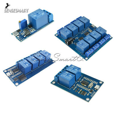 4 channel usb relay