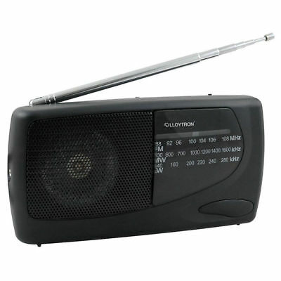 Lloytron Portable Sports Radio MW FM LW With Earphones Battery Operated N736 • 11.06£