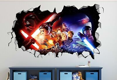 £32.13 • Buy Lego Star Wars Giant Wall Decals Stickers Mural Home Decor For Bedroom Art ST259