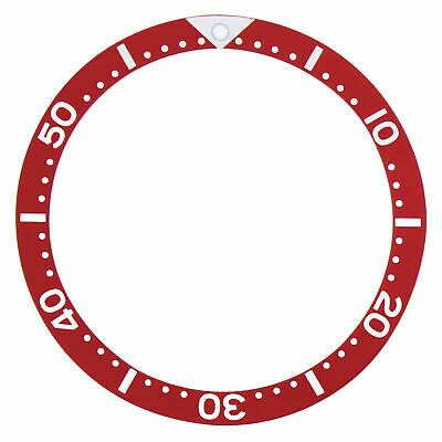 $ CDN25.82 • Buy Bezel Insert For 41mm Seiko Watch Skx173  Skx007 Skxa35 Automatic Watch Red