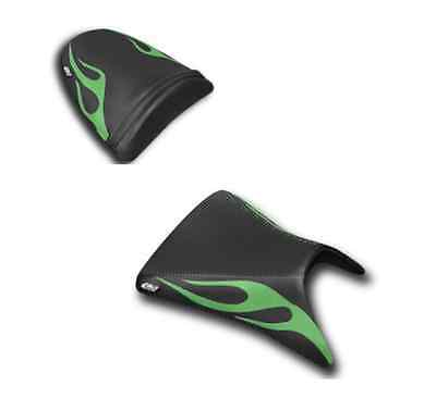$165 • Buy Kawasaki Zx-6r 2003-2004 Flame Seat Cover Covers Rider & Passenger Luimoto
