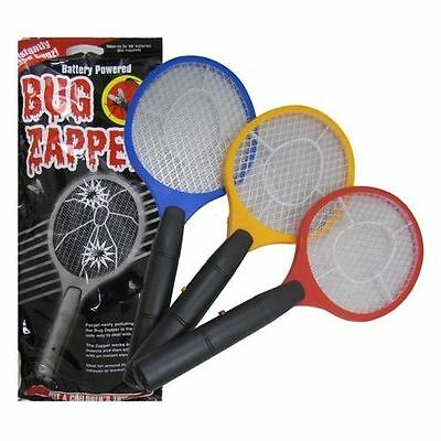 £6.95 • Buy Electric Fly Insect Killer Swat Swatter Bug Mosquito Wasp Zapper Electronic New