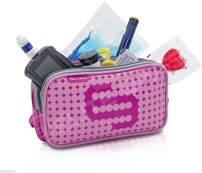 Elite Isothermal Cool Bag / Kitbag For Insulin & Diabetic Supplies Pink • 14.44£