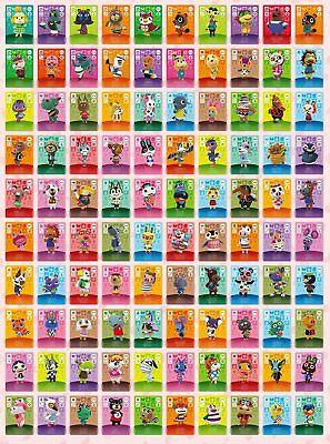 AU5.57 • Buy Animal Crossing Amiibo Series 4 Cards # 301-400 Pick List Works In New Horizons