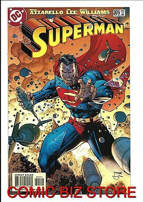 Superman #205 (2004) 1st Printing Bagged & Boarded Dc Comics • 2.75£