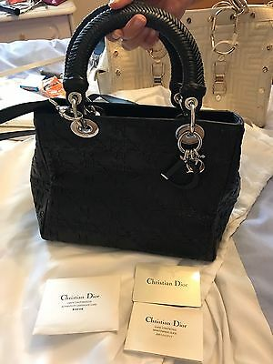 AUTHENTIC Dior Lady Bag (crossbody) In Black - Limited Edition RRP: £3500 • 1,475£