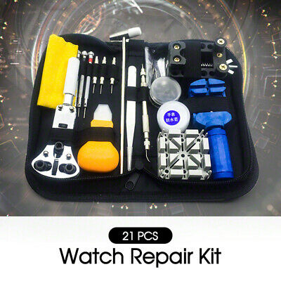 AU18.50 • Buy Horologe Watchmaker Watch Link Pin Remover Case Opener Repair Tool 21pcs Kit Set