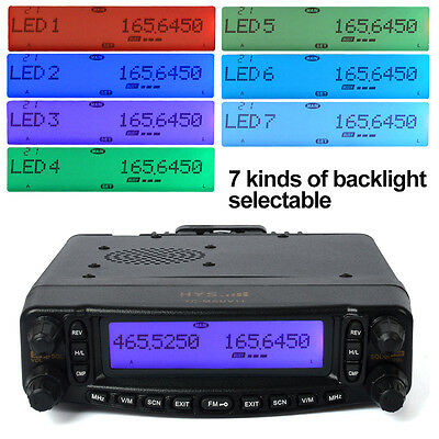 dual band mobile transceiver